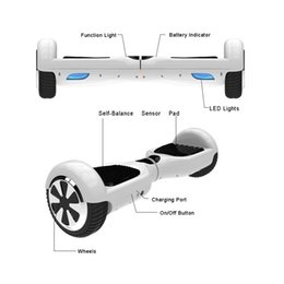 6.5 inch Two Wheels Self Balancing Wheel Smart Hoverboard Electric LED Scooter Smart Skateboard Christmas Gift Outdoors Scooters USA Stock