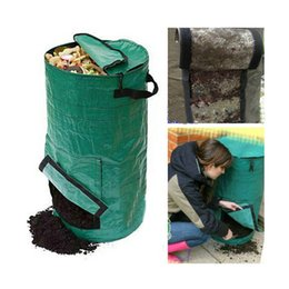 Wholesale PE Fermentation waterproof bag planter bags manure compost kitchen waste bags melons leaves homemade organic fertilizer bag L