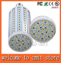 Promotion e27 ce smd CE ROHS UL E40 E27 40W 50W Led Ampoules Corn Lamp 132 / 165pcs SMD 5630 Led maïs Lumières blanc chaud / blanc AC 110-240V