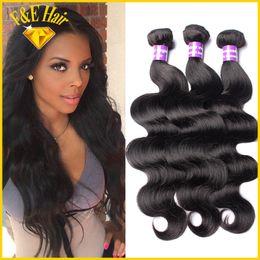 Natural Color Brazilian Virgin Hair Body Wave 100% Unprocessed Human Hair Weave Bundles Rosa Hair Products Liron Hair 3pcs lot