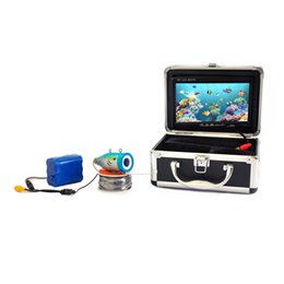 Wholesale New Aluminium Fish Finder quot TFT LCD Monitor TV Lines Underwater Video Camera System HD M Cable Fishing Tackle Float