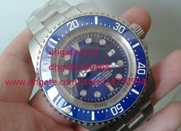 Wholesale Minimum Men s ceramic Quality mm Blue Dial Sea Dweller Sea Dweller Automatic Mens Stainless Steel Watch Man Watches