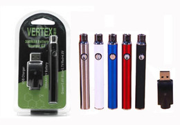 Variable Voltage Vertex L0 Preheat Battery Blister Kit with Wireless 510 Charger 350mAh Vaporizer Pen for O Pen CE3 Tank G2 Cartridges