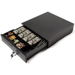 Wholesale Cash Drawer Box Works Compatible Epson Star POS Printers w Bill Coin Tray