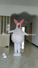 Wholesale Cute rabbit mascot costume both adults and children can use faceless cute bunny suit free delivery