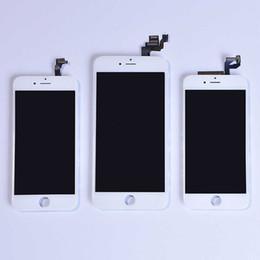 Asamblea completa del sistema del LCD del teléfono celular para el negro blanco negro del digitizador de la pantalla táctil del iPhone 4G 4S LCD Envío libre de DHL desde iphone 4s conjunto completo proveedores