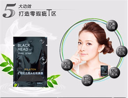 Wholesale Facial DHL PILATEN Suction Black Mask Face Care Mask Deep Cleaning Tearing Style Pore Strip Deep Cleansing Nose Acne Blackhead