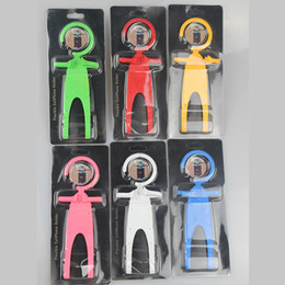 Wholesale Hot Sale All purpose Phone holder humanoid silicone car holder universal Bondi BNDW Flexible Car Phone Holder