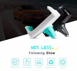 2016 vent mount gps Kickstand Support de téléphone universel pour voiture Support d'air Support d'auto 360 Rotate Support collant réglable pour GPS Téléphone portable Support de téléphone Support de sortie vent mount gps sur la vente