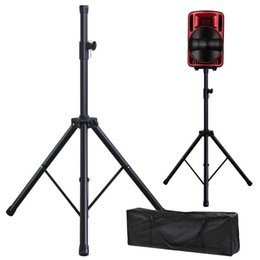 Wholesale Pair of Adjustable Tripod DJ PA Speaker Stands Carry Bag Universal