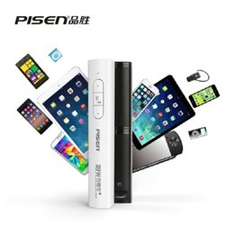 Wholesale PISEN in1 Multifunctional mah USB Mobile Phone Power Bank With Remote Control Laser Pointer Presenter PPT Pen Nano