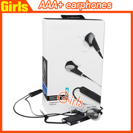 Wholesale AAA quality i In Ear earphone with Control Talk Audio Headphones Earphones with Sealed Retail box fast shipping from girls store