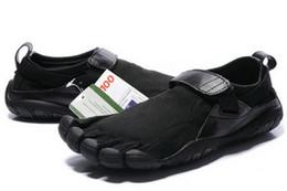 Wholesale Zapatos de Fitness Hombre M248 KSO Trek Chocolate Negro Cinco dedos de los zapatos de senderismo Escalada Fitness Deportes Zapatos para el hombre Atlético tamaño