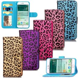 Wholesale Leopard Woven Rainbow Vertical Wallet Leather For Iphone I7 G Plus Magnetic Pouch Flip Cover Photo Frame Money Card Slot Stand Cases Skin