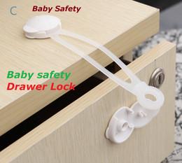 Armarios niños en Línea-2016 Protección Infantil Cuidado del Bebé Cuidado del Bebé Seguridad Armario de Seguridad Cerradura para Gabinete Cajón Armario Puertas Nevera Baño