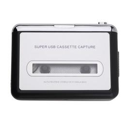 Wholesale High Quality set Portable USB Cassette Player Capture Cassette Recorder Converter Digital Audio Music Player DropShipping