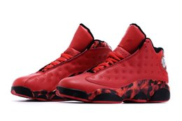 Wholesale 2016 High Quality Retro XIII Ray Allen Heat University Red Gym Red Men Basketball Sport Trainer Shoes Men s Sneakers Size