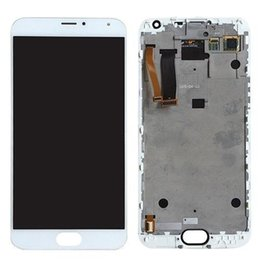 "White LCD Touch Screen Digitizer Assembly For 5.5"" Meizu MX5 Phone Replacement"