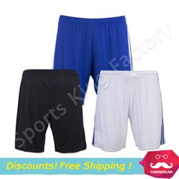 Wholesale Chelsea Shorts Best Thai Quality chelsea Football Soccer Shorts home blue away yellow pants customize numbers