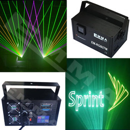 Bar Club Party 4W Sound Activated LED Lighting Show Disco DJ rgb Laser Light