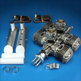 Wholesale 21 HP rpm NIB DLE222 cc Gasoline Engine Latest for RC Airplane