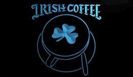 Wholesale LS1167 b Irish Coffee Cup Shop Shamrock Neon Light Sign jpg