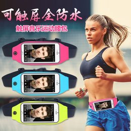 Dual Pocket Running Belt Waist Pack, Weatherproof Reflective Sport Pouch