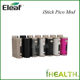 Wholesale Eleaf iStick Pico w TC Box Mod Powered by Single Battery Best Matching for the Newest Melo III Mini Atomizer Original
