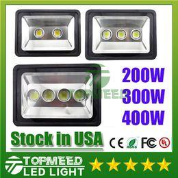 US Stock New Arrived CE RoHS Led Floodlight 85-265V 200W 300W 400W led Outdoor LED Flood light lamp waterproof Tunnel lights street lighting