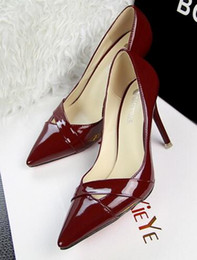 spring new fashion high-heeled fine with shallow mouth pointed hollow sexy women's singles shoes