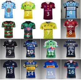 Wholesale NES Zeasland Australia Rugby Jerseys cowboys indigenous Broncos RWC Cronulla sharks Training Wear Camouflage Rugby Jerseys