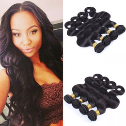 Best Quality Brazilian Virgin Remy Human Hair Body Wave 4pcs Lot Double Weft Hair Weaves G-EASY Hair