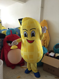 real picture+100% high quality, Hot sale peanut mascot costume suit for any size mascot costume suit for any size mascot costume