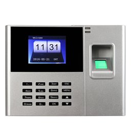Wholesale Fast Identification Of High Stability Biometric Fingerprint Attendance Machine F6141D