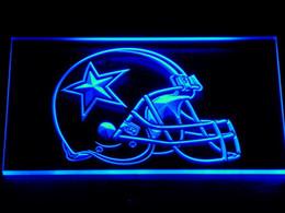 Signes de cow-boy en Ligne-236 Dallas Cowboys Car Neon Sign Bar Decor bière Livraison gratuite Dropshipping gros 7 couleurs à choisir