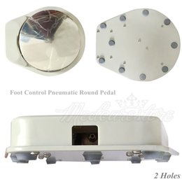 Wholesale 1 x New Denral Dental Hole Foot Control Pneumatic RoundPedal for Dental Equipment cm