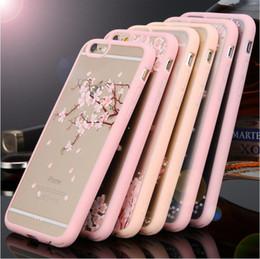 """Цветковые деревья для продажи-Высокое качество мультфильм Cat / Вишневое дерево шаблон телефон случае для iPhone5 5S 6 6S 4.7 '' 6s плюс 5.5 """"Hard Transparent Цветы серии задней крышкой"""