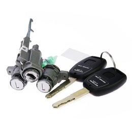 Wholesale Original Honda Whole Old Types Honda CRV Locks Cylinders Set With Keys applied directly to Honda Lock change directly Auto Tools Parts