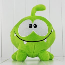 Cut The Rope Game Green Size Cute Plush Soft Toy for kids gift toy doll 28CM