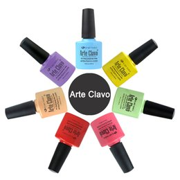 Wholesale Nail Gel Arte Clavo Soak Off UV LED Gel Nail Polish ml Nail Art Primer Top Coat