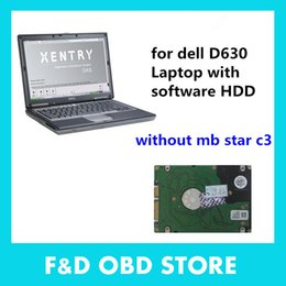 Wholesale Professional laptop notebook computer D630 laptop with mb star c4 software installed in d630 laptop g ready to use