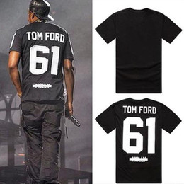 Wholesale tide top Men s T Shirts tom ford molly men and women short sleeved T shirt men casual fashion shirt
