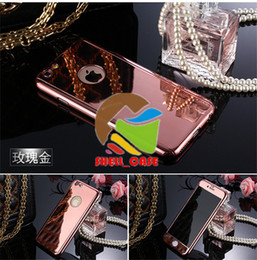 360 degree plating front +back mirror cases for iphone 5 6 screen protector+plated hard PC back cover for iphone 5 6 6s plus