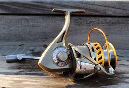 Wholesale 2015 Super Technology Big Spool Long Shot Spinning Reel Aluminium Reel To Spinning Fishing Equipment Boat Rock Right Wheel