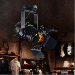 Wholesale American industrial Loft RH Retro clothing store creative personality LED lamp living room wall mounted track lighting