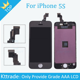 20PCS LOT For Apple iPhone 5S LCD 100% Grade AAA Replacement with Digitizer Assembly LCD Screen Front Display Black