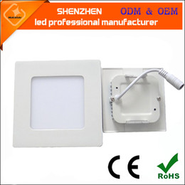 3w 4w 6w 9w 12w 15w 18w 24w led panel light super slim led light panel Recessed LED Ceiling Panels Down Lights