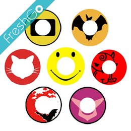 Wholesale Smiley Face Eyes Contact Lens GEASS Design Crazy Contacts Large Stock