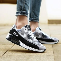 Wholesale Autumn New Running Shoes Women Breathable Mesh Suede Leather Splice Outdoors Sport Shoes Womens Buffering Air Cushion Woman Trainers H185