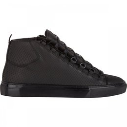 Wholesale Pairs Luxury Brand First Classic Quality Mens Python Arena High Top Outdoor Sports Sneakers For Sale